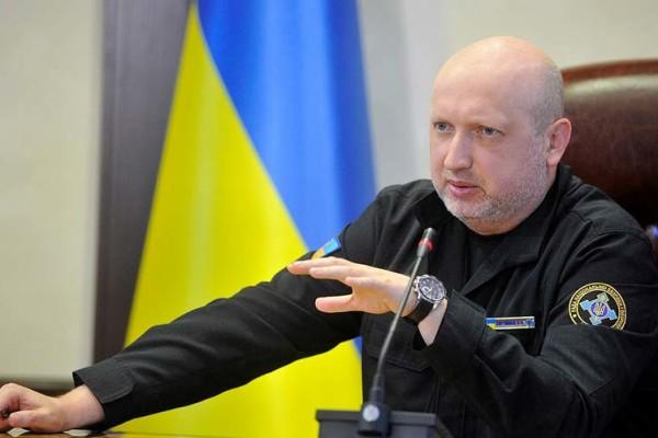Александр Турчинов блокада